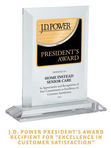Customer Satisfaction Home Care Award